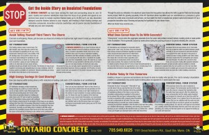 Brochure: Get the Inside Story on Insulated Foundartions
